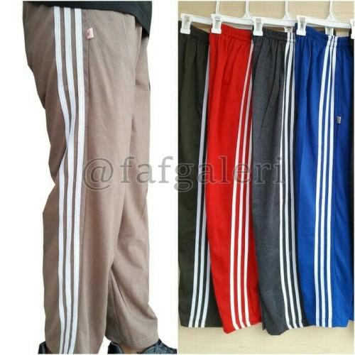 Foto Produk Celana Training Panjang ukuran Jumbo untuk pria dan wanita - Biru dari Raracolection