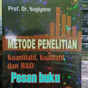Foto Produk Buku Metode Penelitian Kuantitatif, Kualitatif, dan R&D - Sugiyono dari pesan buku