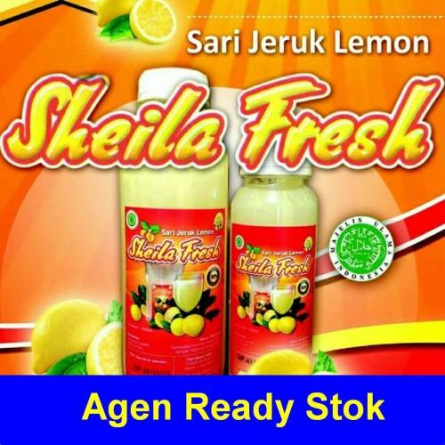 Foto Produk Sari Jeruk Lemon Sheila Fresh 500ml Laris dari Toko Buku 21