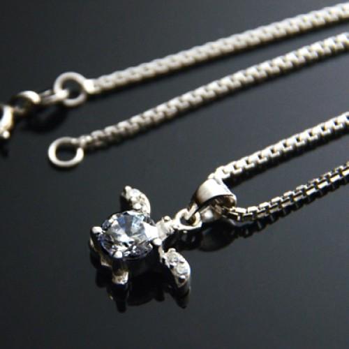 Foto Produk Kalung Perak EMAS PUTIH ASLI import KOREA - WG 099 (Garansi 6 bulan) dari Royale Jewel