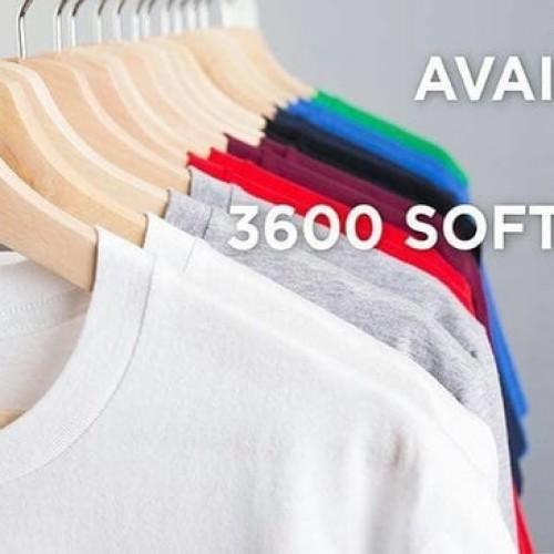 Foto Produk [Khusus Putih] New States Apparel Softstyle 3600 Kaos Polos Original dari GILDAN + DISTRIBUTION