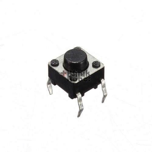 Foto Produk KR04745 Mini Pushbutton Switch 6x6x4.3mm 4P dari KlinikRobot