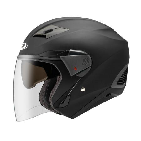 Foto Produk Zeus ZS611 Matt Black Z611 Double Visor dari Juragan Helm ID
