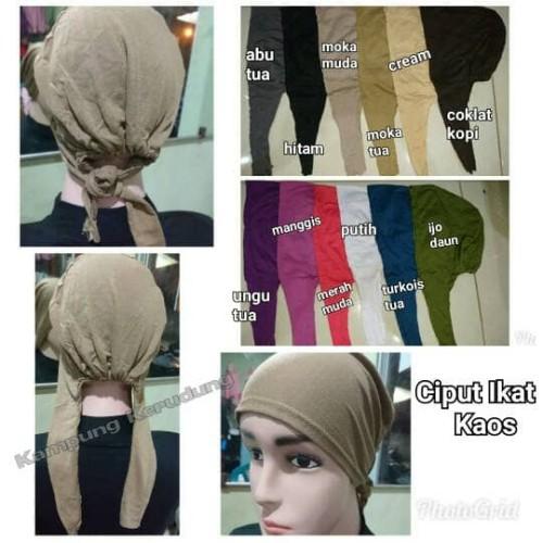Foto Produk Ciput Ikat Kaos Murah Inner Dalaman Jilbab Hijab Kerudung Muslimah dari Kampung Kerudung