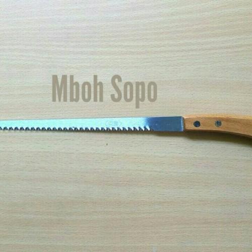 Foto Produk Alat Bonsai- Gergaji Kecil Lancip dari Mboh Sopo