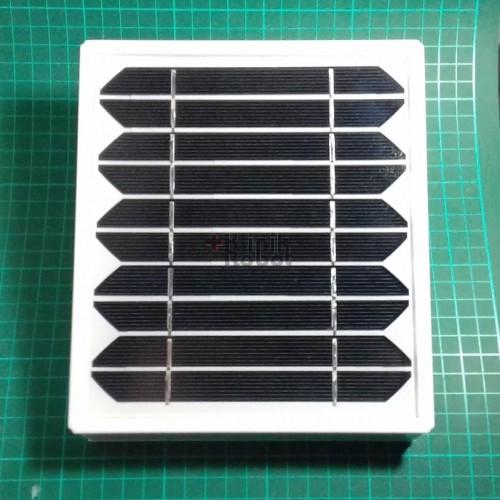 Foto Produk KR08226 Wall Mount LED Lamp with Solar Cell Powered / Bracket XL RED 1 dari KlinikRobot