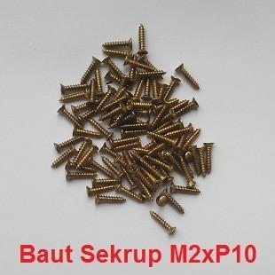 Foto Produk Baut Sekrup M2xP10mm dari Hobi Led