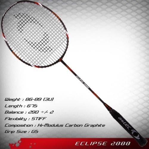 Foto Produk Raket Badminton Astec ASTEC ECLIPSE 2000 - Original Promo dari MERBIKE