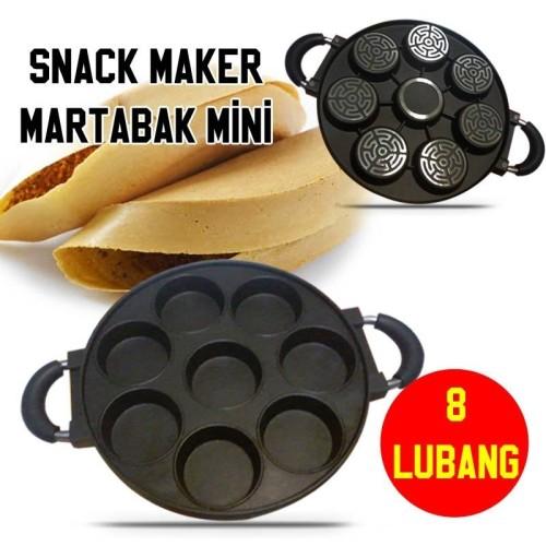 Foto Produk Cetakan Kue 8 Lubang Datar / Snack Maker Martabak Mini 8 Holes Murah dari Fleurie Store