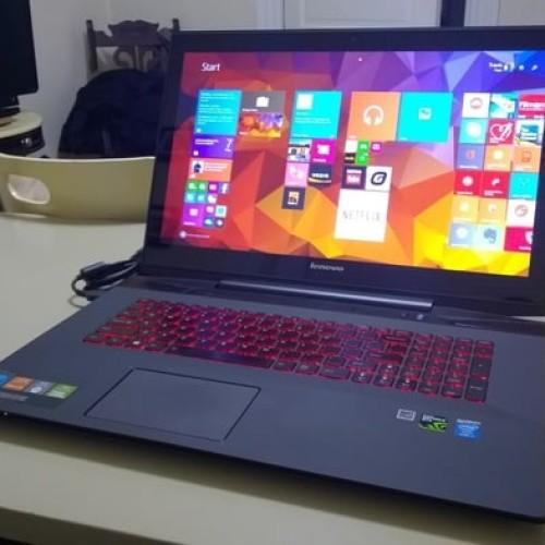 "Foto Produk Lenovo Y70-70 Touch i7-4710HQ 2,5G,16gb,1TB,GTX 8,17,3"" dari Gamers Generation"