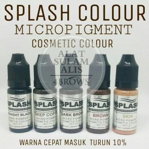 Foto Produk tinta sulam alis splash colour dari alat sulamalis nbcbeauty