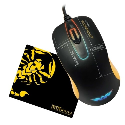 Foto Produk Armaggeddon Scorpion 3-Gaming Mouse-free Mousepad-Best Buy dari SuperStore Computindo