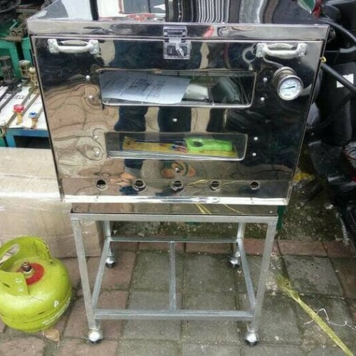 Foto Produk oven gas+termo+loyang ukuran 40x60 stenlis dari majdi syarif