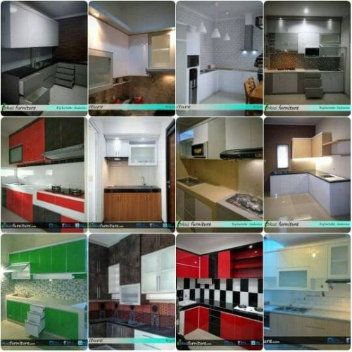 Foto Produk Kitchen set Minimalis / lemari dapur hpl - Pintu saja dari Fokusfurniture