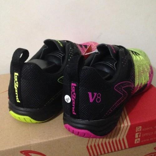 Foto Produk Sepatu Futsal Specs Metasala Combat V8 Black Green Pink 400645 Ori dari andahmu.02 shop