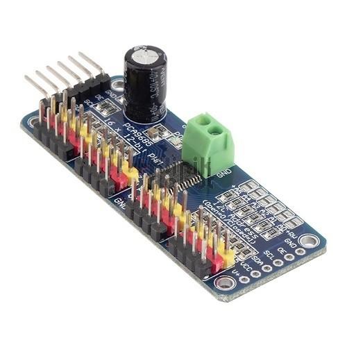 Foto Produk KR11005 16-Channel 12-bit PWM/Servo Driver - I2C interface - PCA9685 dari KlinikRobot