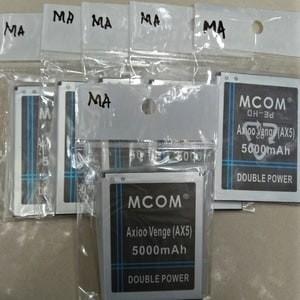 Foto Produk baterai double power M-Com Axioo Venge AX5 dari Abadi 83 Acc