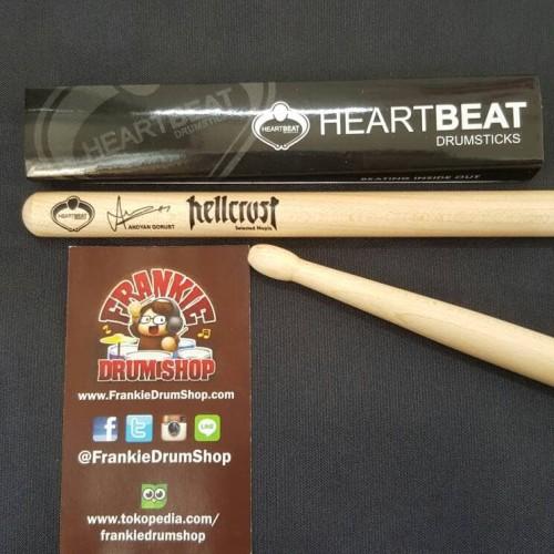 Foto Produk HeartBeat HBGRSTHM - Andyan Gorust HellCrust Signature Maple StickDrum dari FrankieDrumShop