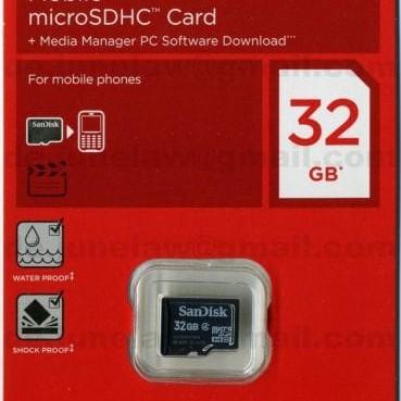 Foto Produk Memory Card Sandisk 32GB Micro SD dari TOV Komputer & Acc