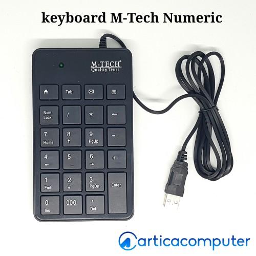 Foto Produk Keyboard Mtech Numeric dari Artica Computer