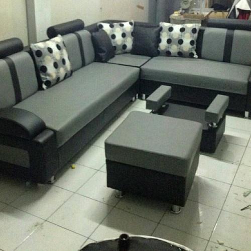 Sofa Minimalis Terbaru Kursi Ruang Tamu Murah Lucu Unik Sudut L Elegant Shopee Indonesia