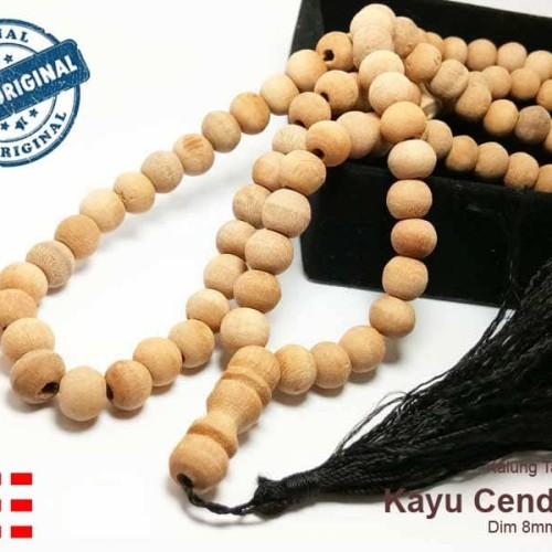 Foto Produk VeE Kalung Tasbih Terapi Kayu Cendana Timor Wangi Asli - 99 Butir dari Vee Jewelry