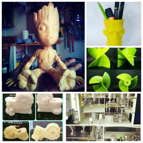Foto Produk Jasa 3D Printing / Cetak 3 Dimensi Bahan Wood Like dari BIKIN3D