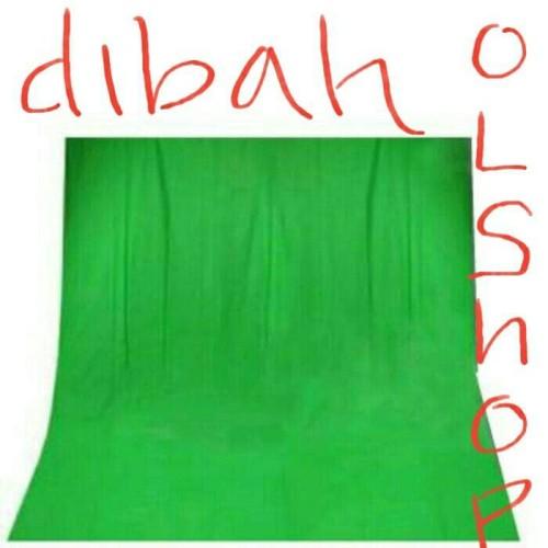 Foto Produk kain green screen 75gr - Hitam dari dibaholshop