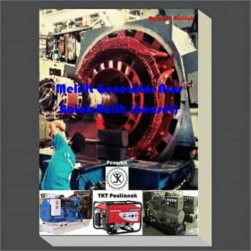 Foto Produk Buku Melilit Generator Listrik Arus Bolak-Balik (Genset) dari Listron Surya Teknik