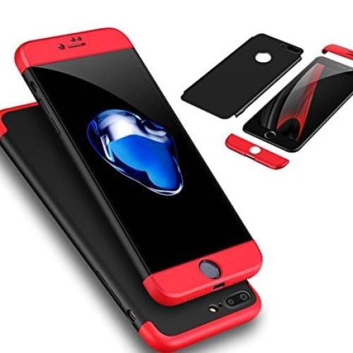 Foto Produk 360 protection slim matte case iPhone 6/6s plus  - Hitam dari importking