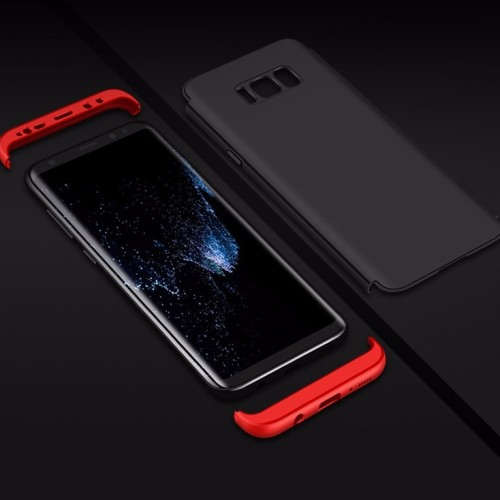 Foto Produk 360 protection slim matte case Samsung galaxy S8 plus - Hitam dari importking