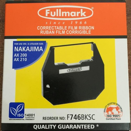 Foto Produk Pita Fullmark F746BKSC for NAKAJIMA AX series AX200 AX210 dari Asiatech Solusindo
