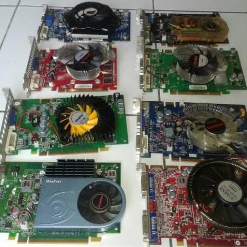 Foto Produk vga gaming 512 mb 128 bit ddr2 dari one allshop