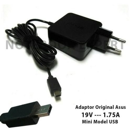 Foto Produk ORIGINAL adaptor charger Asus 19v-1.75A MINI USB EEEBOOK X205T X205TA dari scriptechnology