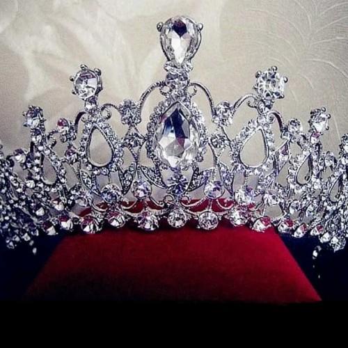Foto Produk Bridal Pengantin Tiara Pesta Mahkota Headband Aksesoris Rambut dari finyonino