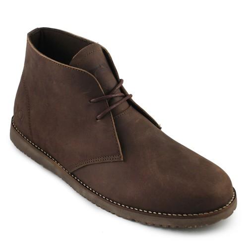 Foto Produk Sauqi Chukka Brown Sepatu Pria Kulit Asli Casual Formal Boots dari Juragan Sepatu Bagus