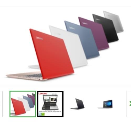Foto Produk Lenovo iDEAPAD ip320 # i5-7200 VGA 2GB WiN10 !! dari OrKa