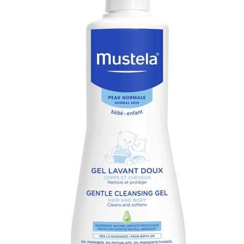 Foto Produk Mustela Hydra Bebe - Gentle Cleansing Gel 500ml dari Chubby Baby Shop