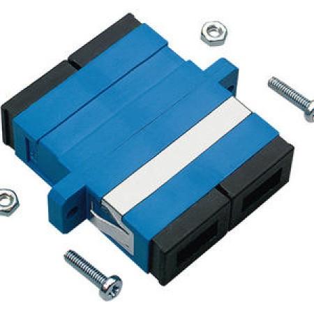 Foto Produk R&M R30805 Adapter SC-Duplex PC, blue, ceramic SM, C dari AdisatyaCom