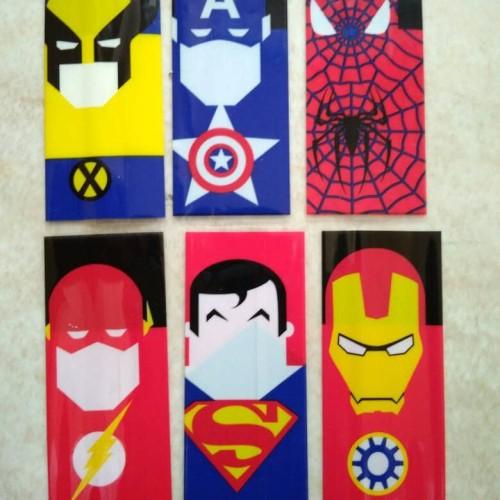 Foto Produk wrap Batterai superhero dari Rifana Bersaudara