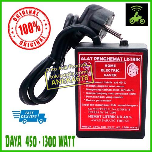 Foto Produk ALAT PENGHEMAT LISTRIK HOME ELECTRIC SAVER ORIGINAL 450 - 1300 WATT dari ANEKA 678