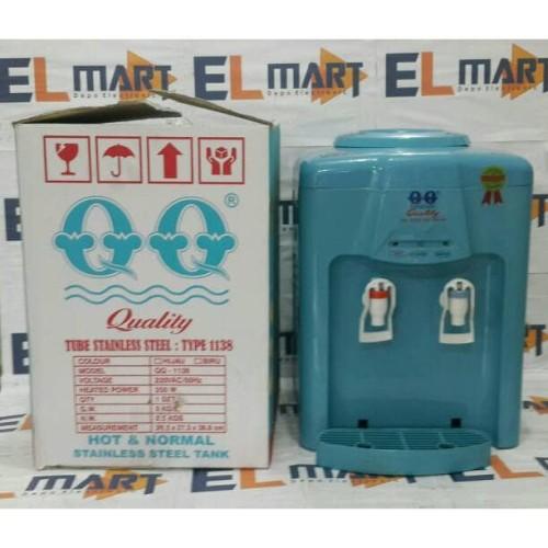 Jual Qq Dispenser Air Panas Dan Normal 1138 Blue Dispenser Murah Jakarta Barat Alstonia Tokopedia