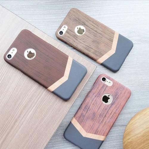 Foto Produk Arrow wood case iphone ip 5 5s se 6 6s 6 plus 7 7+ 8 8plus casing hard dari Caseayangan ID