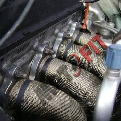 Foto Produk exhaust wrap DEI titanium import USA peredam panas knalpot titanium dari MOTO FIT VARIASI