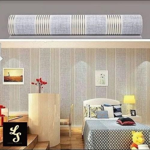 Foto Produk S14 Wallpaper Sticker Stripe uk. 45cm x 10m dari Elyzavita San