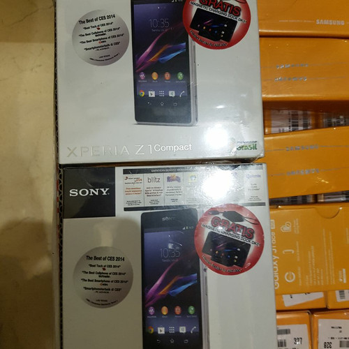 Foto Produk Sony Xperia Z1 Compact, BNIB not iPhone Samsung Lenovo Oppo Xiaomi dari Madu Kelulut Indo cell