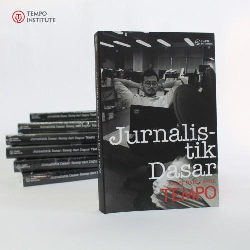 Foto Produk Buku Jurnalisme, Media, Fotografi, Menulis - Jurnalistik Dasar Tempo dari TEMPO INSTITUTE