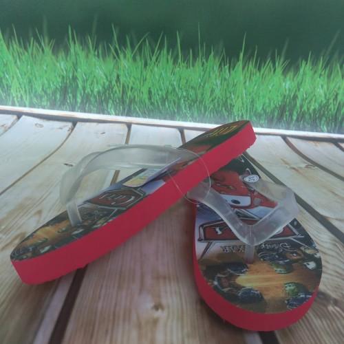 Foto Produk sandal flat karakter cars sandal jepit anak cowo keren good quality dari casaloma