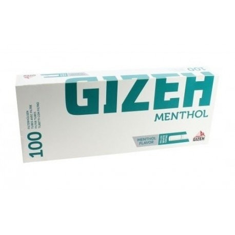 Foto Produk GIZEH Menthol Tip (100 pcs) - Cigarette Filter Tube / Selongsong Rokok dari Javan Cigars