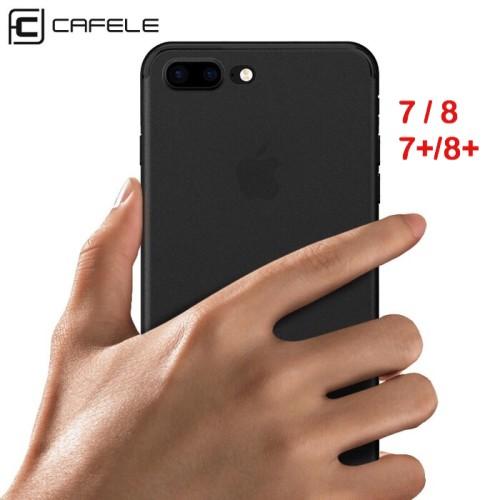Foto Produk Cafele Iphone 8 8+ 8 Plus 8Plus - Ultrathin Matte Soft Case dari J Original